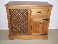 pine wine rack home u0026 garden furniture for sale gumtree
