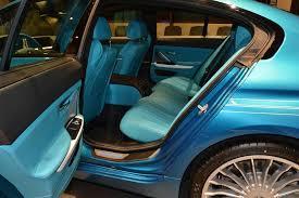 bmw blue interior atlantis blue alpina b6 gran coupe with matching interior is