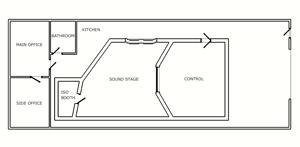 recording studio floor plan recording studio design service the dream studio blueprint