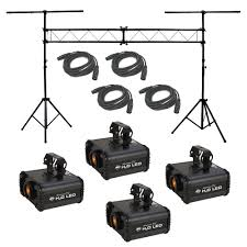 american dj lighting equipment 4 h20 led water ripple effect american dj light with 4 dmx cables