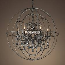 Crystal Sphere Chandelier Aliexpress Com Buy Free Shipping Vintage Orb Crystal Chandelier