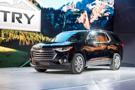 chevrolet traverse blue 2018 chevy traverse pictures photos images gm authority
