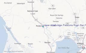 petaluma ca map drawbridge petaluma river san pablo bay california tide