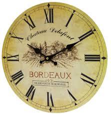Horloge Murale Silencieuse by Horloge Murale Pendule Ronde De Cuisine Ou Salon En Bois Et Papier