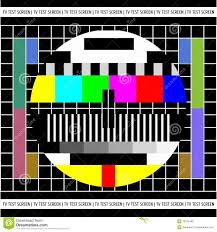 tv color test royalty free stock photography image 17889167