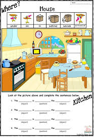 best 25 prepositions of place worksheet ideas on pinterest