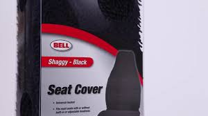 bell black shaggy universal seat cover pep boys video gallery