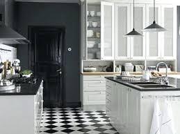 white and black tiles for kitchen design interior