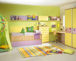 Yellow Bedroom Design Ideas Purple Color Walls Contemporary The Wall Decorations