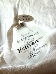 heaven in our home memorial ornament keepsake large 3