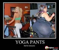 Fat Girl Yoga Pants Meme - funny fail yoga pants fat ladies 14 images bajiroo com