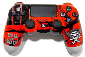Wildfire Camo Wrap by Custom Ps4 Controller With A Grafitti Design Kind Of Cool Huh