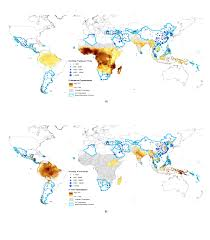 Map Of Phoenix Airport by Global Malaria Connectivity Through Air Travel Malaria Journal