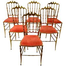 chiavari chair for sale set of six bronze chiavari chairs for sale at 1stdibs
