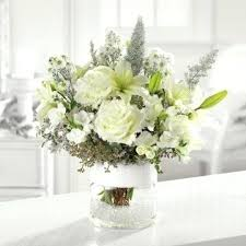 white flower centerpieces white flowers arrangements centerpieces fijc info