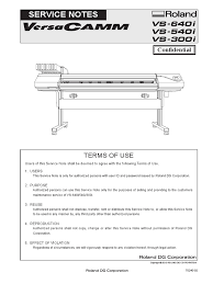 roland sm rs640i e r2 mechanical engineering manufactured goods
