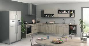 cuisine en bois gris cuisine bois cuisine gris clair bois