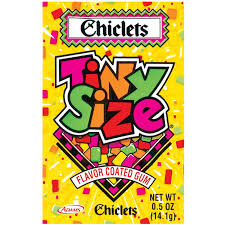 where to buy chiclets gum chiclets tiny size flavor coated gum 0 5 oz packet food