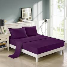 Bed Sheet Set Buy Purple Bed Sheet Sets U2013 Ease Bedding With Style