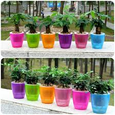 low price self watering plant pots to choose