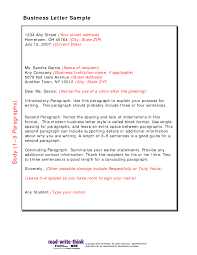 Business Letter Example by Writing A Friendly Letter Example The Best Letter Sample