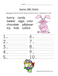 easter worksheets have fun teaching