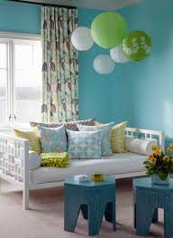 Teal Patterned Curtains Patterned Curtains Make The Window Look More Vibrant U2013 Home Design