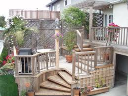 deck design ideas in clever railing fence striking front porch