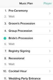 wedding band playlist for when the guest are getting seated wedding ideas