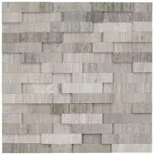 3d polished grey brick stone tile subway tile outlet