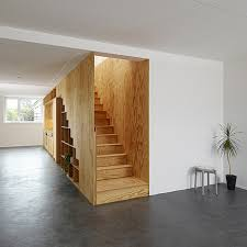 Wooden Interior Cool And Inspiring Bookcase Stairs Designs Homesfeed