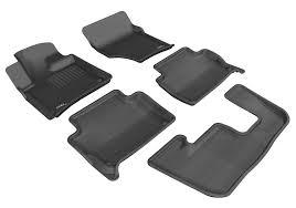 nissan altima 2013 all weather floor mats amazon com 3d maxpider complete set custom fit all weather floor