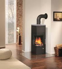 Wohnzimmer Modern Mit Ofen Kaminöfen Bequem Und Angenehm Heizen