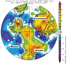National Temperature Map 2008 Arctic Sea Ice News And Analysis Page 2