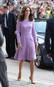 Kate Middleton Dresses Kate Middleton Is The Epitome Of Perfection In Pretty Purple Dress