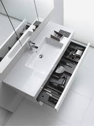 modern bathroom sink cabinets vanities duravit benevola