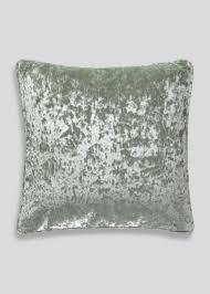 Navy Velvet Cushion Cushions Printed Faux Fur Knitted U0026 Outdoor U2013 Matalan