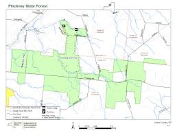 State Of Jefferson Map Pinckney State Forest Map Nys Dept Of Environmental Conservation