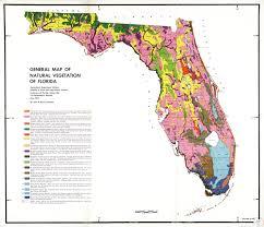 Florida vegetaion images General map of natural vegetation of florida circular s 178 map jpg