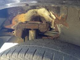 Ford Escape Recall - 2004 ford escape shocks rusted through 6 complaints