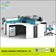 Modern Glass Office Desk by Office Furniture Aluminium Frame Glass Partition Office Furniture
