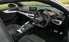 audi dashboard a5 audi a5 coupé review 2017 on