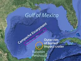 Map Of Yucatan Mexico by Mapping The Demise Of The Dinosaurs Schmidt Ocean Institute