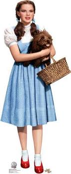 dorothy costume dorothy holding toto wizard of oz 75th anniversary lifesize