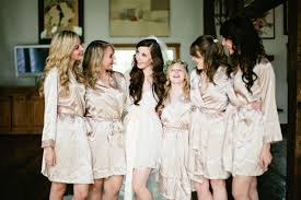 bridesmaid satin robes silk robes for your bridesmaids