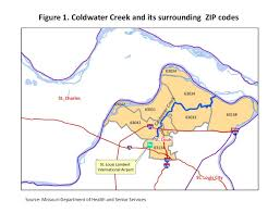 Zip Code Map Missouri by Rates Of Radiation Related Cancers Not Higher Near Coldwater Creek