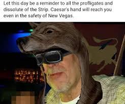 New Vegas Meme - ave true to the caesar 2017 las vegas strip shooting know your meme