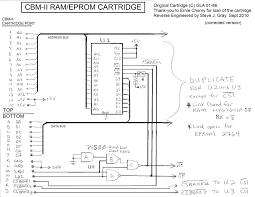 c64 cartridge schematic pub cbm schematics cartridges c64