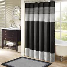 Curtains White And Grey Curtain Window Curtain Black Curtains Cheap White And Gray