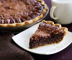 chocolate espresso pecan pie recipe finecooking